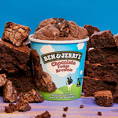 Chocolate Fudge Brownie, 458mL