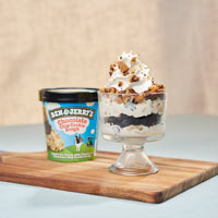 Recipe: Chocolate Chip Cookie Dough Ice Cream Trifle