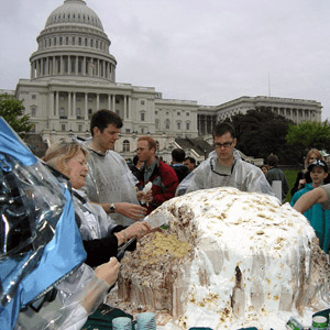World's largest Baked Alaska, Washington DC, 2005